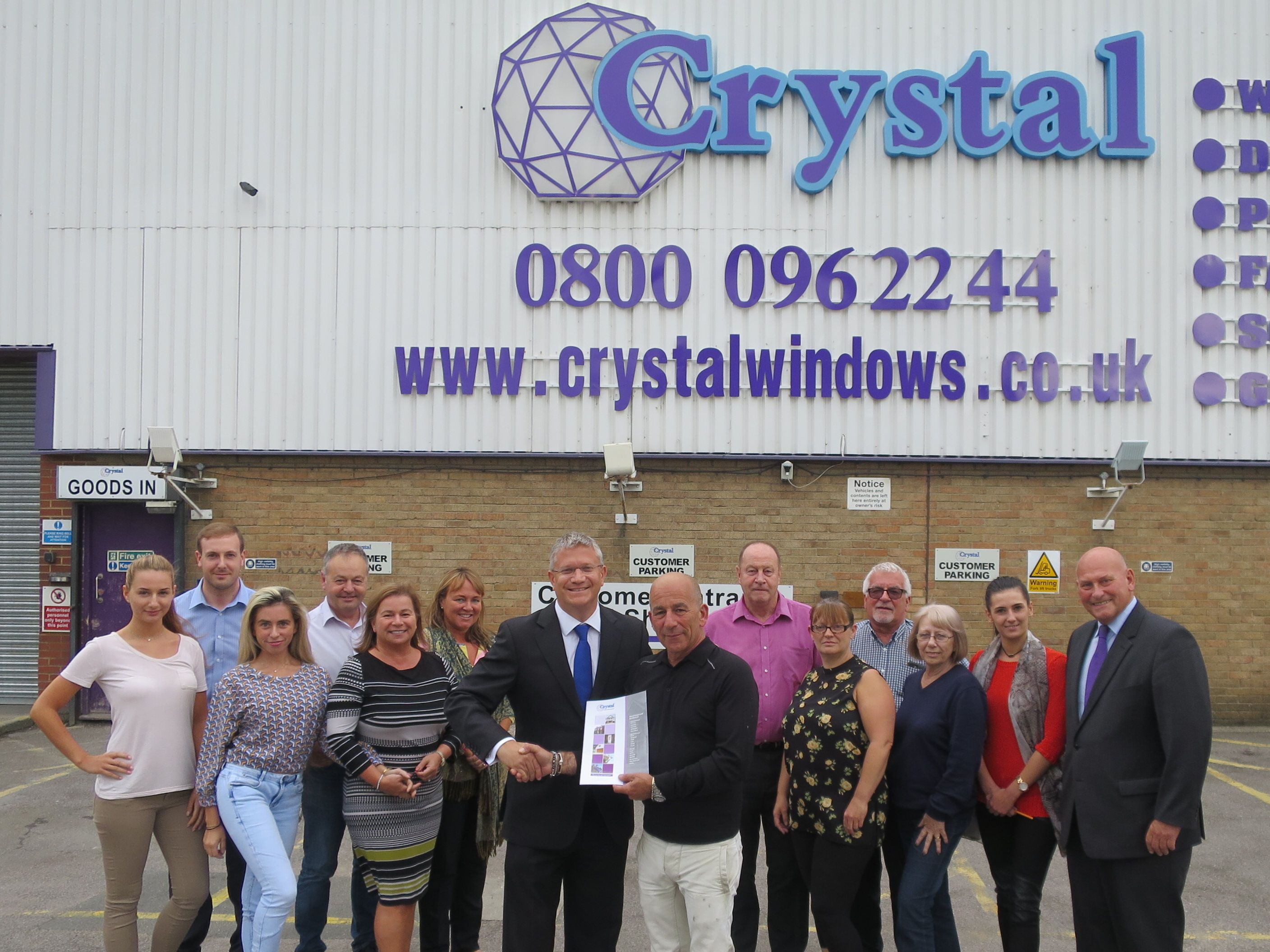 Andrew Visits Crystal Windows One Of Romford S Biggest