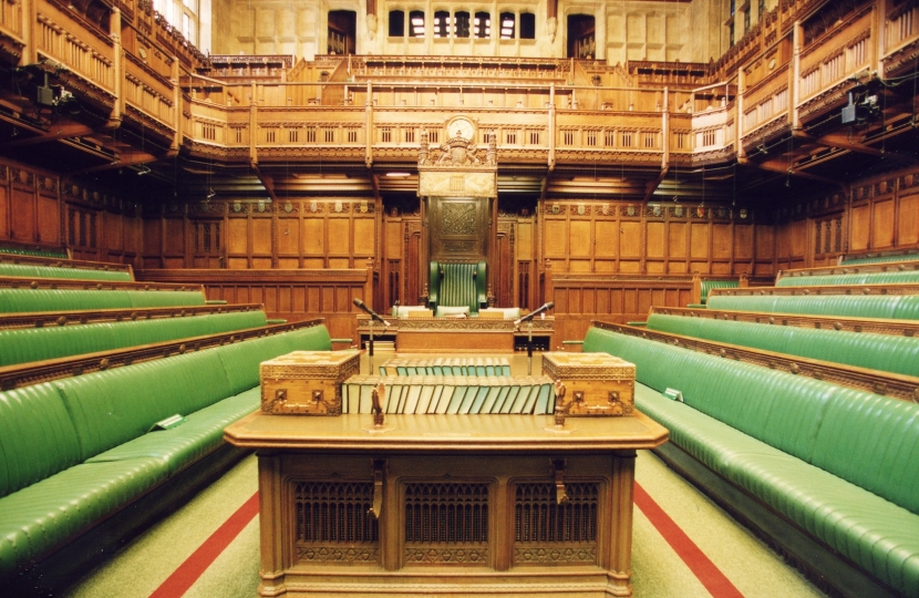 Houses Of Parliament Interior